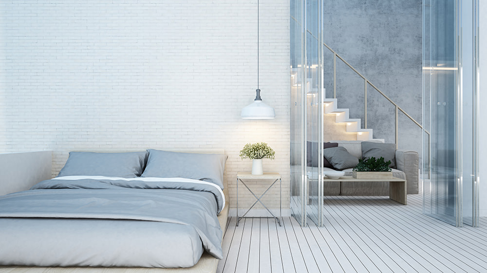 Perfektes Licht in einem Haus