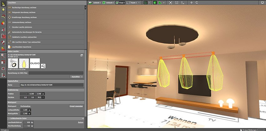 Lichtplanung in 3D